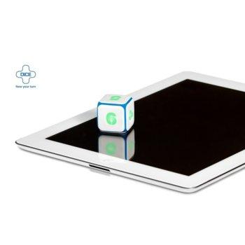 Дигитален зар за игри, за таблети поддържащи Bluetooth 2.1/4.0, обхват до 10 метра image