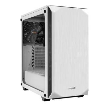 Кутия be quiet PURE BASE 500, ATX/M-ATX/MiniITX, 2x USB 3.0, бяла с прозрачен капак, без захранване image