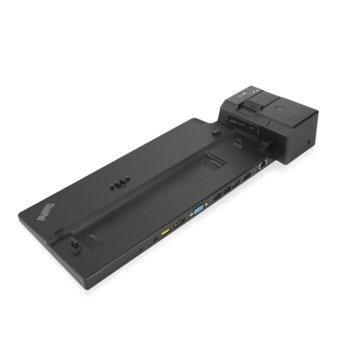 Докинг станция Lenovo ThinkPad Pro Docking Station, 3x USB 3.1 gen1, 2x USB 2.0, 1x USB-C, 1x GbE, 2x DP, 1x Audio Jack, черен image