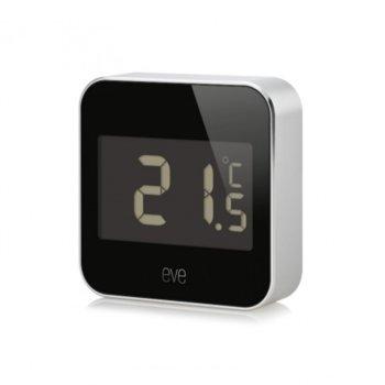 Електронна метеостанция Apple Elgato Eve Degree, безжичен сензор за измерване на температурата и влажността на въздуха, Bluetooth image