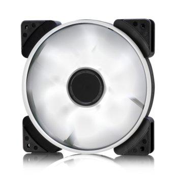 Вентилатор 140mm Fractal Design Prisma SL-14 White, 3-pin, 1000 rpm image
