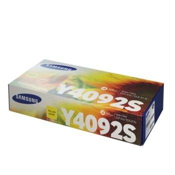 Касета за Samsung CLT-Y4092S - SU482A - Yellow - заб.: 1 000k image