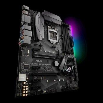 Дънна платка Asus Republic Of Gamers STRIX H270F GAMING, H270, LGA 1151, DDR4, 2x PCI-E 3.0(DP/HDMI/DVI)(2Way CFX), 6x SATA 6Gb/s, 2x USB 3.0, 2x USB 3.1 Type A + C, 2x M.2 Sockets, ATX image