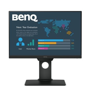 "Монитор BenQ BL2381T (9H.LHMLA.TBE), 22.5"" (57.15 cm) IPS панел, WUXGA, 5ms, 20 000 000:1, 250cd/m2, DisplayPort, HDMI, DVI, VGA, 4x USB image"