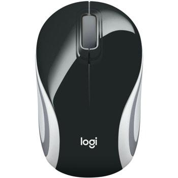 Мишка Logitech M187, оптична (1000dpi), безжична, USB, черна image