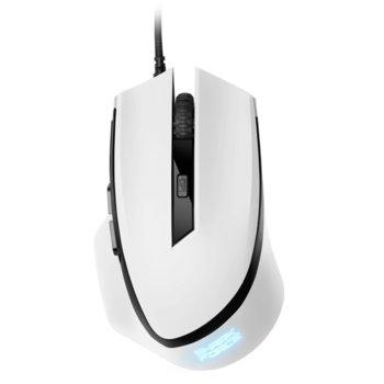 Мишка Sharkoon SHARK Force White, оптична (1600 dpi), 6 бутона, черен image