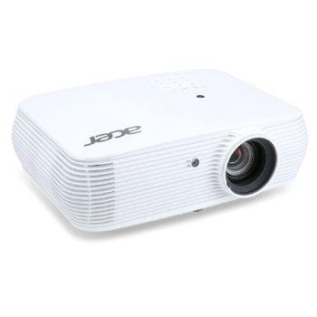 Проектор Acer P5630, DLP, WUXGA (1920x1200), 20 000:1, 4000 lm, Wi-Fi, 2x HDMI, RJ-45, 2x VGA, 1x USB A, RS-232 image