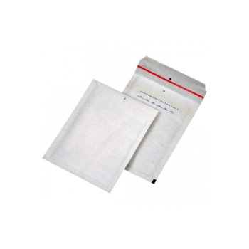 Плик със самозалепваща лента Airpoc, размер 275x350mm, предпазва предметите от удар и наранявания, бял image
