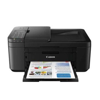 Мултифункционално мастиленоструйно устройство Canon PIXMA TR4550, цветен принтер/копир/скенер/факс, 4800 x 1200 dpi, 9 стр./мин, USB, Wi-Fi, A3 image