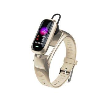 Смарт гривна B9, 23mm, SIM, Bluetooth V5.0, IP52, Различни цветове image