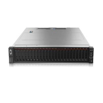 "Сървър Lenovo ThinkSystem SR650(7X06A04LEA), осемядрен Skylake Intel Xeon Silver 41103 2.1/3.0GHz, 16GB DDR4 RAM, без твърд диск(8x 2.5"" SATA/SAS), 4x RJ-45, 2x USB 3.0, 2x VGA, без OS, 1x 750W захранване image"