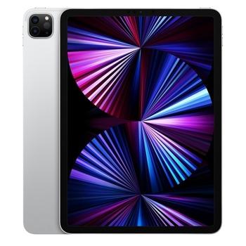 """Таблет Apple iPad Pro Wi-Fi + Cellular (MHW83HC/A)(сребрист) 5G, 11"""" (27.94 cm) Liquid Retina дисплей, осемядрен Apple A12Z Bionic, 8GB RAM, 256GB Flash памет, 12.0 + 10.0 MPix & 12.0 MPix камера, iPad OS, 468g image"""