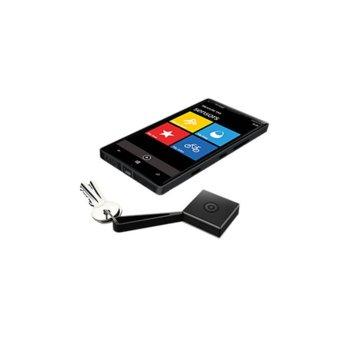 Безжичен сензор Nokia Wireless Proximity Sensor Treasure Tag WS-2, за индикиране на вещи, Bluetooth 4.0, съвместим с повечето Nokia смартфони посредством приложението Treasure Tag app, черен image