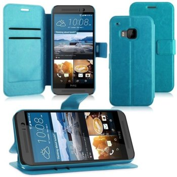 Wallet Flip Case for HTC One 3 M9 blue product