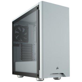 Кутия Corsair Carbide Series 275R (CC-9011133-WW), ATX, 2x USB 3.0, 2x 3.5mm жак, прозорец, бяла, без захранване image