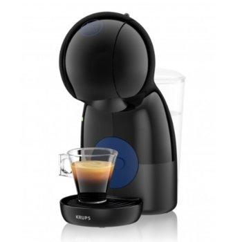 Еспресо машина Krups Nescafe Dolce Gusto PICCOLO XS, 1600 W, 15 bar, черна image