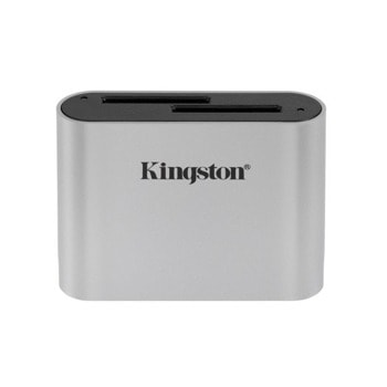 Четец за карти Kingston WFS-SD, USB C, сив image