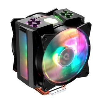 Охлаждане за процесор Cooler Master MasterAir MA410M, ъвместимост със сокети LGA 2066/2011-v3/2011/1151/1150/1155/1156/1366 & AMD AM4/AM3(+)/AM2(+)/FM2(+)/FM1 image