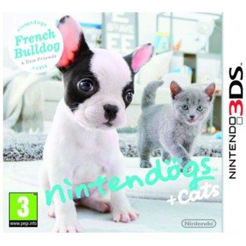 Игра за конзола Nintendogs + Cats: French Bulldog & New Friends, за 3DS image