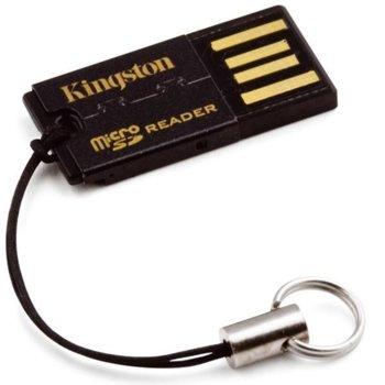 Четец за карти Kingston FCR-MRG2, USB 2.0, microSD/microSDHC/microSDXC, черен image