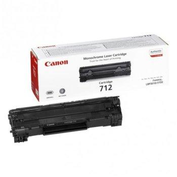 Касета за Canon LBP-3010/LBP3100 - Black - CRG-712 - P№ 1870B002 - Заб.: 1 500k image