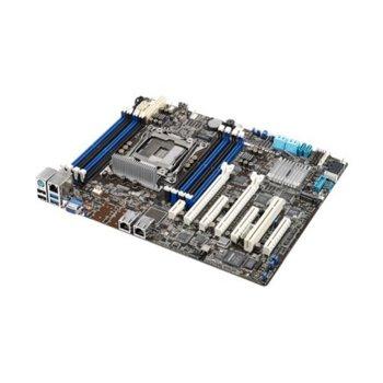 Дънна платка за сървър Asus Z10PA-U8, LGA2011, DDR4 DIMM, 2x LAN + 1x Mgmt LAN, 10x SATA 6Gb/s, RAID 0,1,5,10, 2x USB 3.1 Gen1, 2x USB 2.0, ATX image