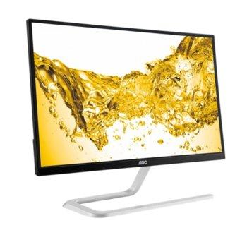 """Монитор AOC I2281FWH, 21.5"""" (54.61 cm), IPS панел, 4ms, Full HD, 1000:1, 250cd/m2, HDMI image"""