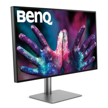 "Монитор BenQ PD3220U (9H.LH7LA.TBE), 31.5"" (80.01 cm) IPS панел, 4K/UHD, 5ms, 20 000 000:1, 300cd/m2, DisplayPort, HDMI, Thunderbolt 3  image"