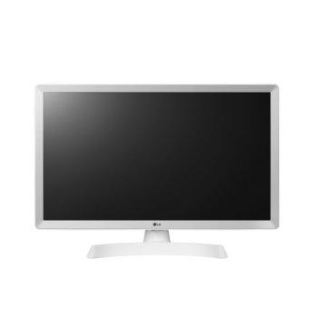 """Монитор LG 24TL510V-WZ, 23.6"""" (59.94 cm) WVA панел, HD, 5ms, 5 000 000:1, 250cd/m2, DVB-T2/C /S2, HDMI, USB image"""
