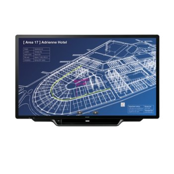 "Интерактивен дисплей Sharp PN70TH5, 70"" (177.8 cm), Ultra HD touchscreen дисплей, LAN, VGA, HDMI, DisplayPort, USB, RS232 image"