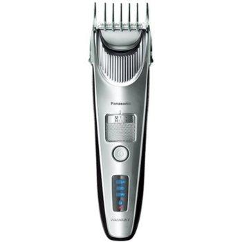 Машинка за подстригване Panasonic ER-SC60-S803, 1 приставка, 38 настройки, миеща се, линеен високоскоростен двигател, 1 час време на работа с едно зареждане, сребриста image