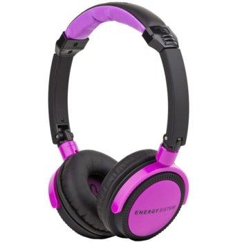 Слушалки Energy DJ 400 Black Violet product