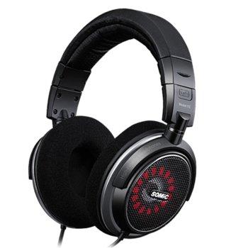 Слушалки Somic V2, 3м кабел, 3.5mm jack, черни image