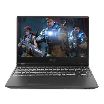 "Лаптоп Lenovo Legion Y540-15IRH-PG0 (81SY00KWBM), шестядрен Coffee Lake Intel Core i7-9750HF 2.6/4.5 GHz, 15.6"" (39.62 cm) Full HD IPS Anti-Glare Display & GF GTX 1650 4GB, (mDP), 8GB DDR4, 128GB SSD & 1TB HDD, No OS  image"