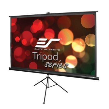 "Екран Elite Screens T92UWH, на стойка, Black, 2032 x 1143 мм, 92"" (233.7 cm), 16:9 image"