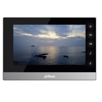 "Монитор Dahua VTH1510CH, за видеодомофонна система, до 32 канала, 8 алармени входа, 7.0""(17.78 cm) TFT LCD 800х480 сензорен дисплей, H.264, двупосочно аудио, 10/100Mps RJ-45 image"