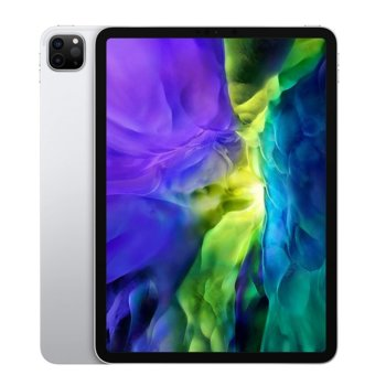 "Таблет Apple iPad Pro (2nd Generation)(MXE72HC/A)(сребрист), 4G/LTE, 11"" (27.94 cm) Liquid Retina дисплей, осемядрен Apple A12Z Bionic, 6GB RAM, 512GB Flash памет, 12.0 + 10.0 MPix & 7.0 MPix камера, iPad OS, 473g image"