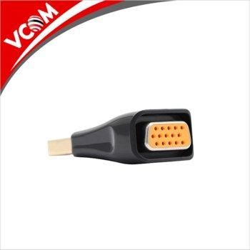 Преходник VCom, от DisplayPort(м) към VGA(ж), черен image