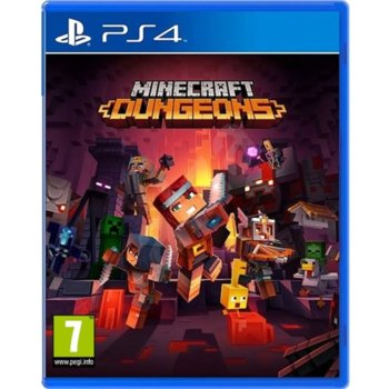 Minecraft Dungeons PS4 product