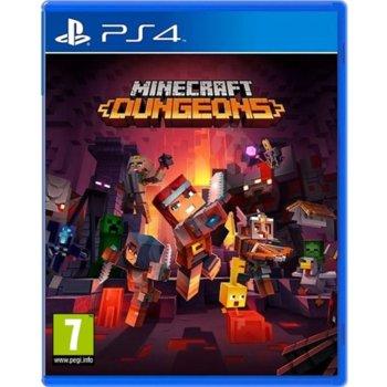 Игра за конзола Minecraft Dungeons, за PS4 image