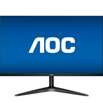 """Монитор AOC 24B1H, 23.6""""(59.94 cm), MVA панел, Full HD, 8 ms, 50000000:1, 250 cd/m², HDMI, VGA image"""