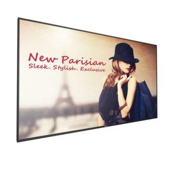 "Публичен дисплей Philips 86BDL4150D/00, 85.6"" (217.4 cm), Ultra HD дисплей, LAN, VGA, DVI-D, HDMI, DisplayPort, USB, RS232 image"