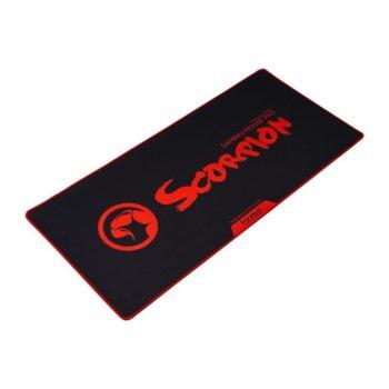 Подложка за мишка Marvo G19 - XL, гейминг, 900 mm x 400 mm x 4 mm, черна image