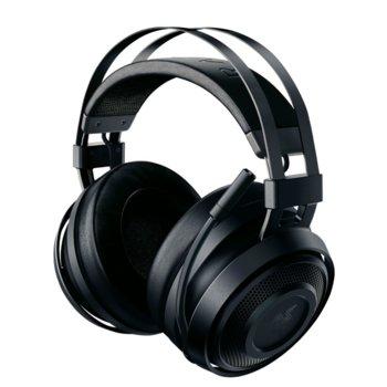 Слушалки Razer Nari Essential, безжични, микрофон, до 16 часа работа, черни image