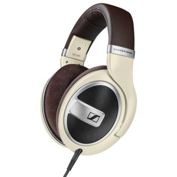 Слушалки Sennheiser HD 599, 12-38500Нz честотен диапазон, 3 м ĸaбeл, бежови image