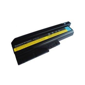 Батерия (заместител) за лаптоп IBM/Lenovo, съвместимa със серии Thinkpad R61 R61E R61I T61 R60 R60e T60 T60p Z60m, 9 cells, 10.8V, 7800mAh image