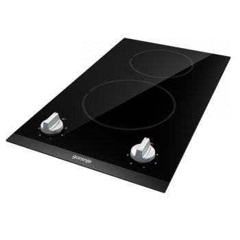 Стъклокерамичен плот Gorenje EC321BCSC, 2 нагревателни зони, 2900W, черен image