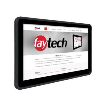 """Индустриален компютър Faytech 1010501622 FT133N4200CAPOB, четирияден Apollo Lake Intel Pentium N4200 1.1/2.5 GHz, 13.3"""" (33.78 cm) Full HD Touchscreen Display, 4GB, 128GB SSD, 2x USB 3.0, Linux  image"""