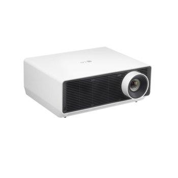 Проектор LG ProBeam Laser 4K BU50NST, DLP, 4K UHD (3840x2160), 3,000,000:1, 5000 lm, Wi-Fi, LAN, USB, HDMI, RS-232, HDBaseT, бял image