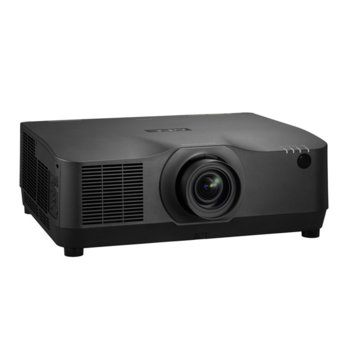 Проектор NEC PA804UL-BK, 3LCD, WUXGA (1920x1200), 3000000:1, 7500lm, DisplayPort, HDMI, VGA, USB 2.0 image